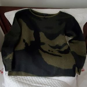 Luxurious wool sweater.